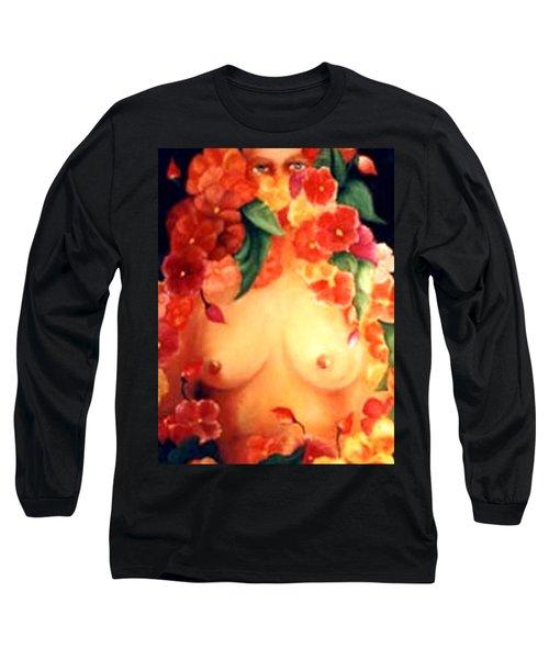 Blooms Long Sleeve T-Shirt by Jordana Sands