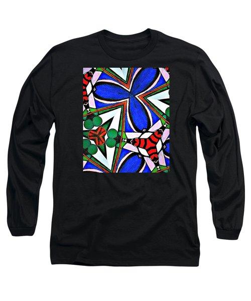 Calendoscopio Long Sleeve T-Shirt by Sandra Lira
