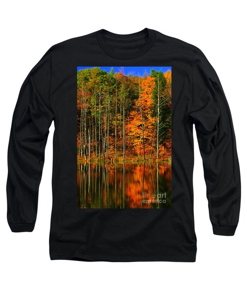 Coxsackie New York State Long Sleeve T-Shirt by Mark Gilman