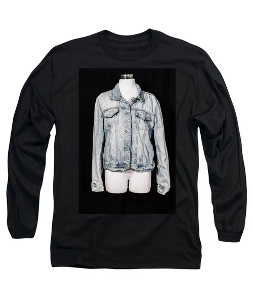 Denim Jacket Long Sleeve T-Shirt