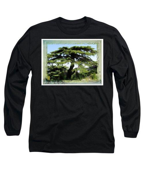 Do-00512 Cedar Forest Long Sleeve T-Shirt