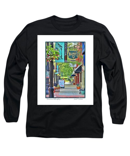 Downtown Willoughby Long Sleeve T-Shirt