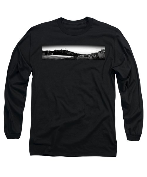 Edinburgh Station Panorama Long Sleeve T-Shirt