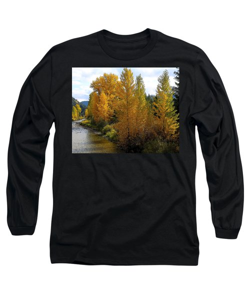 Fall Colors Long Sleeve T-Shirt by Steve McKinzie