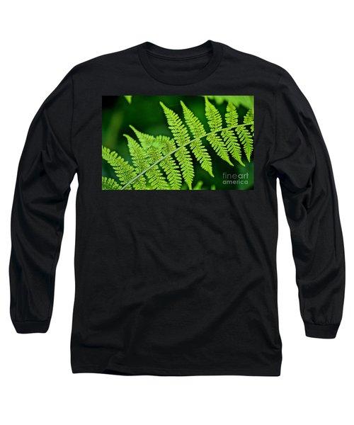 Fern Seed Long Sleeve T-Shirt by Sharon Elliott