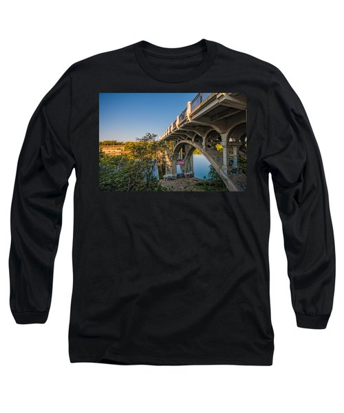 Long Sleeve T-Shirt featuring the photograph Ford Parkway Bridge by Tom Gort