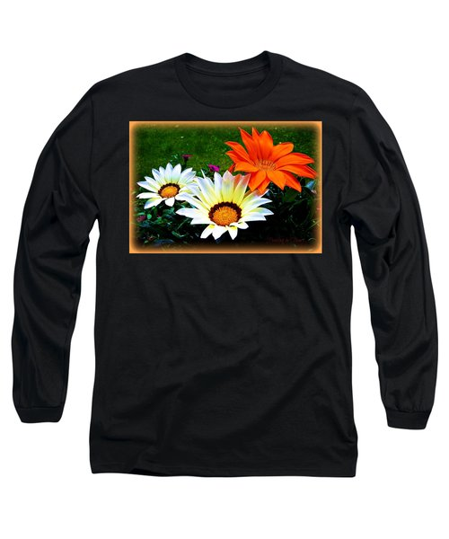Garden Daisies Long Sleeve T-Shirt