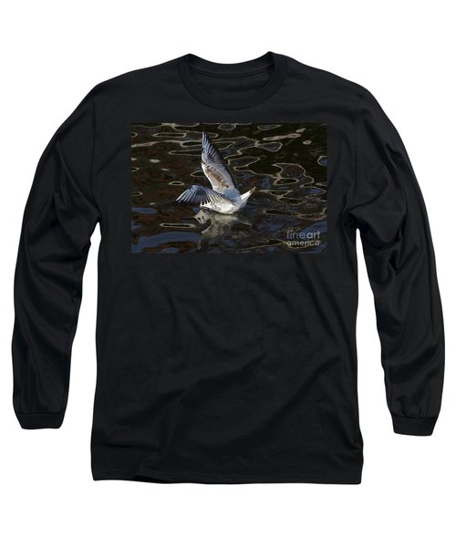 Head Under Water Long Sleeve T-Shirt by Michal Boubin