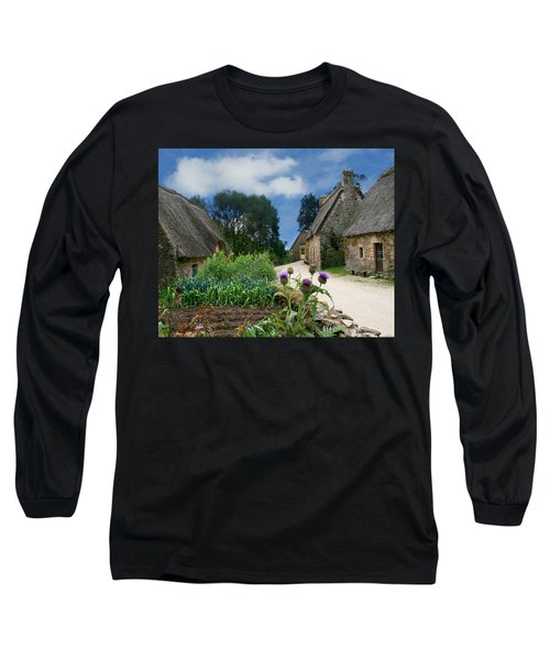 Medieval Village Long Sleeve T-Shirt