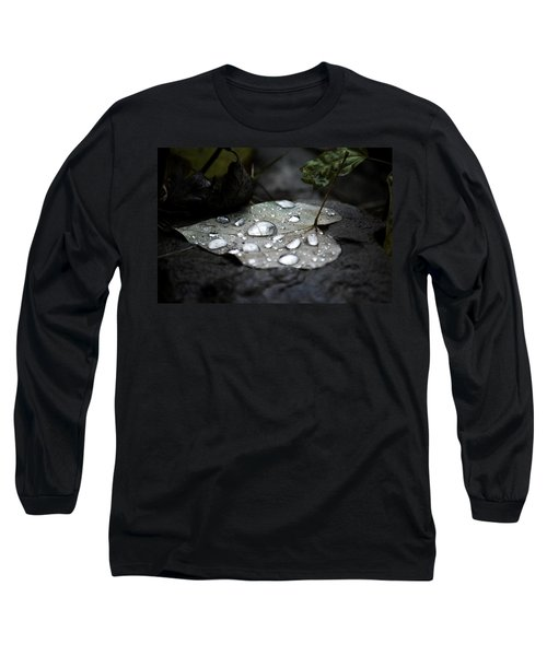 Long Sleeve T-Shirt featuring the photograph My Heart Weeps by Peggy Franz