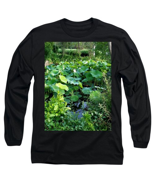 Long Sleeve T-Shirt featuring the photograph The Pond by Cynthia Amaral
