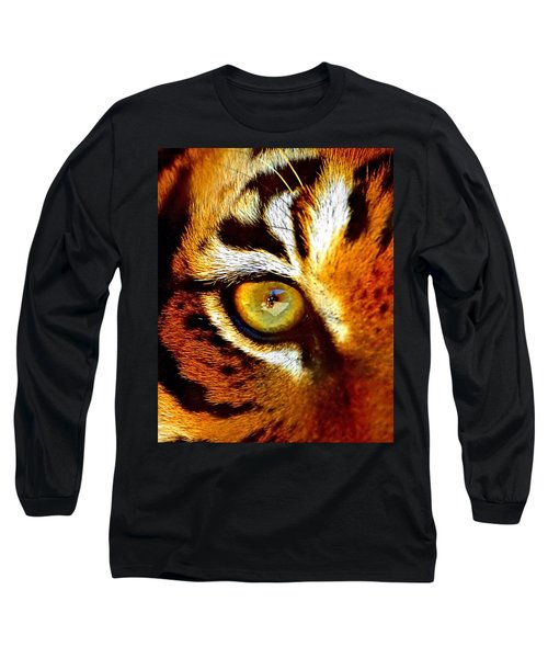 Tigers Eye Long Sleeve T-Shirt
