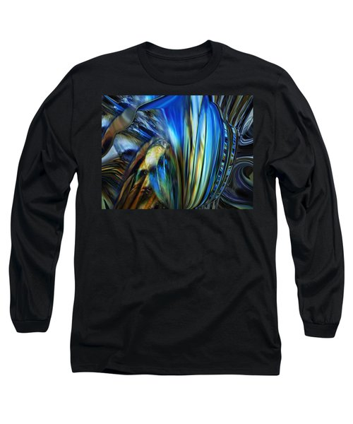 Long Sleeve T-Shirt featuring the digital art Wealth Weary by Steve Sperry