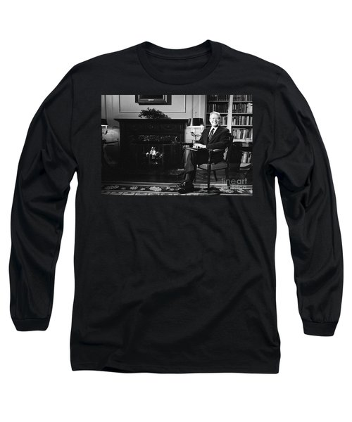 Jimmy Carter (1924- ) Long Sleeve T-Shirt by Granger