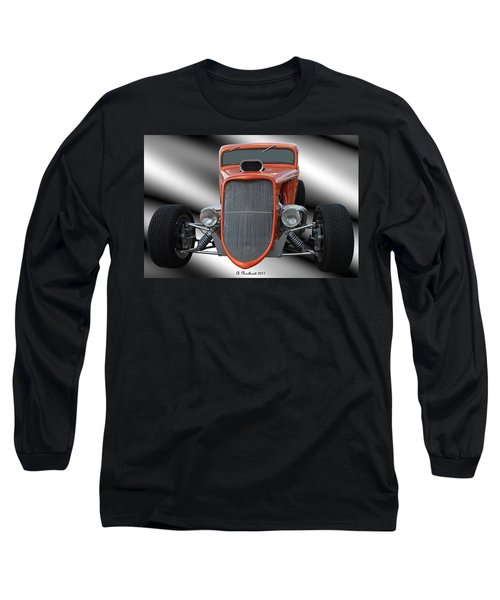 1933 Ford Roadster - Hotrod Version Of Scream Long Sleeve T-Shirt