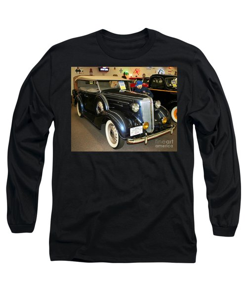Long Sleeve T-Shirt featuring the photograph 1936 Chevrolet Phaeton by John Black