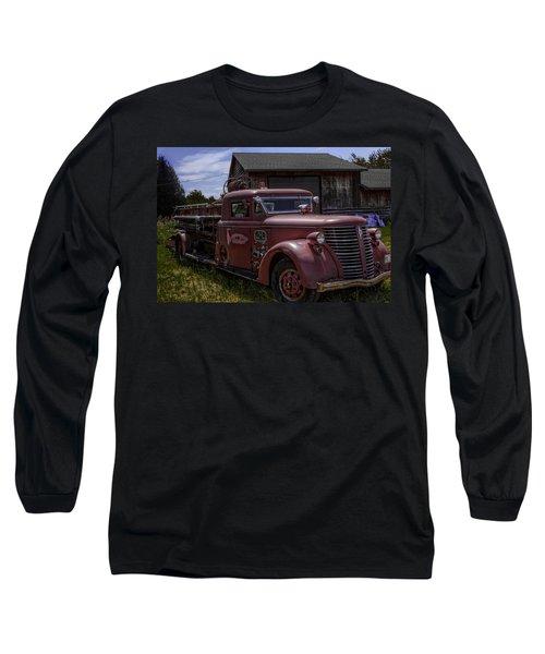 1939 American Lafrance Foamite Long Sleeve T-Shirt