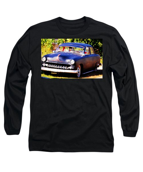 Long Sleeve T-Shirt featuring the photograph 1950 Ford  Vintage by Peggy Franz