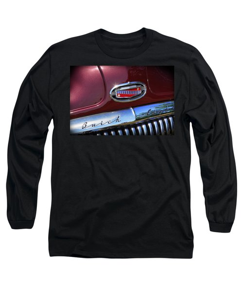 Long Sleeve T-Shirt featuring the photograph 1951 Buick Eight by Gordon Dean II