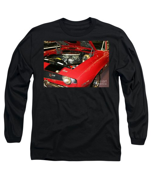 Long Sleeve T-Shirt featuring the photograph 1969 Z-28 Crossram With 9737 Copo Option by John Black