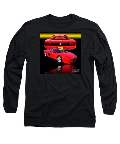 1990 Ferrari Testarossa Long Sleeve T-Shirt