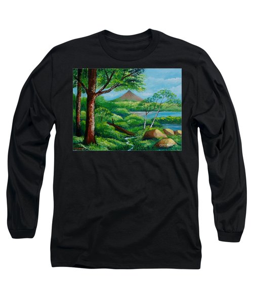 Arenal Volcano Long Sleeve T-Shirt