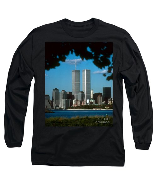 View From Liberty State Park Long Sleeve T-Shirt
