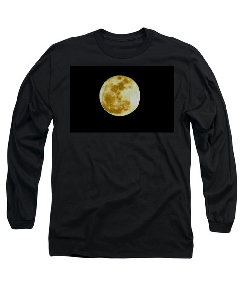 2011 Full Moon Long Sleeve T-Shirt by Maria Urso