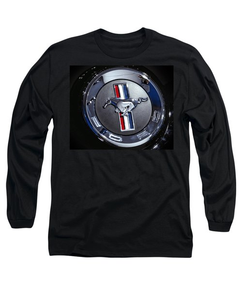2012 Ford Mustang Trunk Emblem Long Sleeve T-Shirt