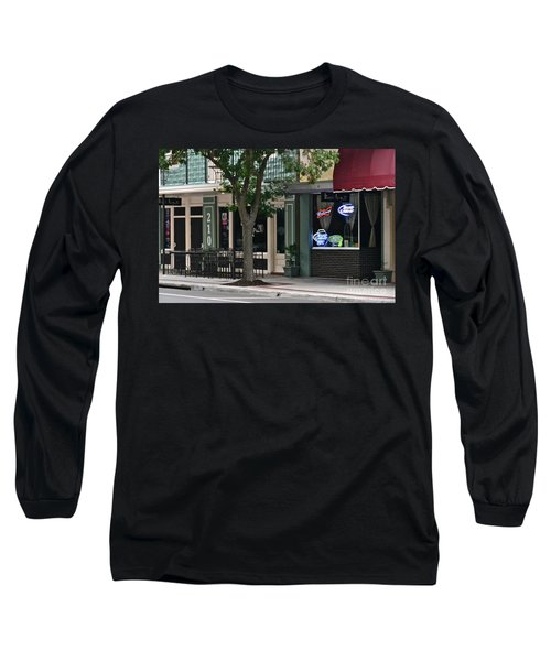 Long Sleeve T-Shirt featuring the photograph 210 Pine Street by Carol  Bradley