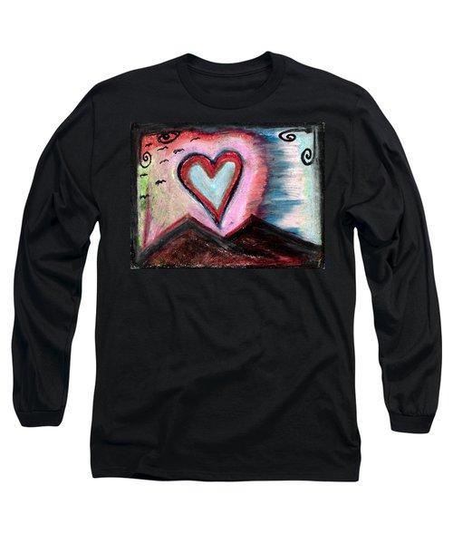 My Heart As The Sun  Long Sleeve T-Shirt