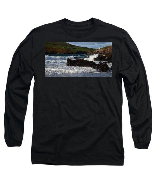 Beenbane Beach Long Sleeve T-Shirt by Barbara Walsh
