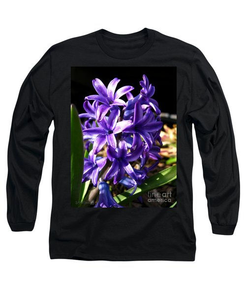 Hyacinth Named Peter Stuyvesant Long Sleeve T-Shirt by J McCombie