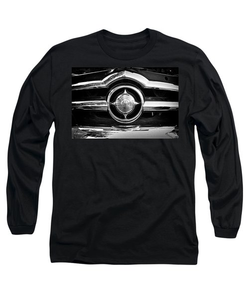 8 In Chrome - Bw Long Sleeve T-Shirt