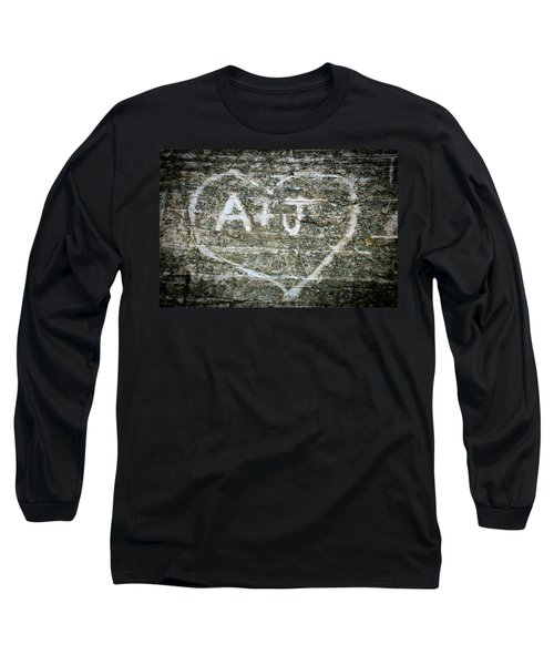A And J Long Sleeve T-Shirt by Julia Wilcox