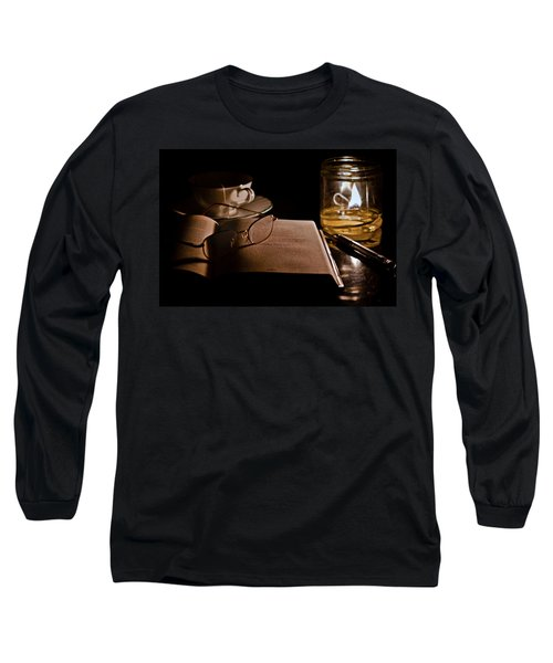 A Candlelight Scene Long Sleeve T-Shirt