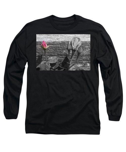 A Pop Of Pink Long Sleeve T-Shirt