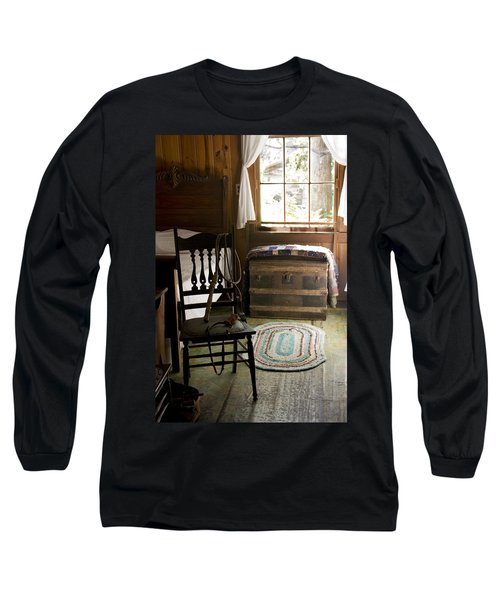 Long Sleeve T-Shirt featuring the photograph A Simpler Life by Lynn Palmer