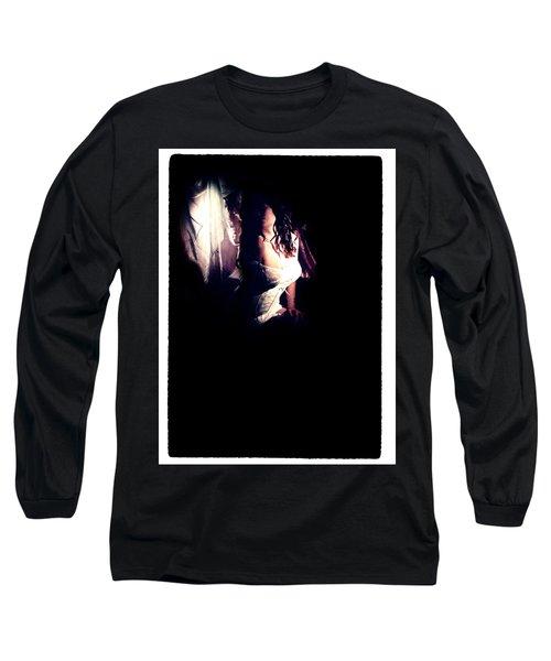 A Taste Of Film Noir Fetish Long Sleeve T-Shirt by Lon Casler Bixby