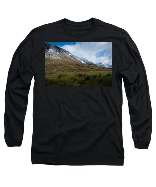 A View In The Mountains Long Sleeve T-Shirt