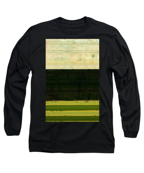 Abstract Landscape - The Highway Series Ll Long Sleeve T-Shirt
