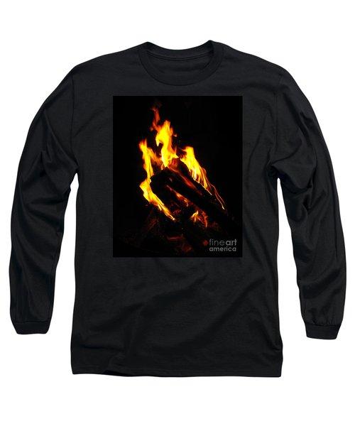 Abstract Phoenix Fire Long Sleeve T-Shirt
