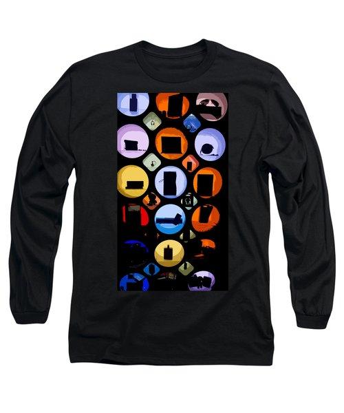 Abstract Stuff Long Sleeve T-Shirt
