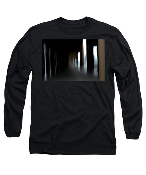 Long Sleeve T-Shirt featuring the mixed media Abyss by Terence Morrissey
