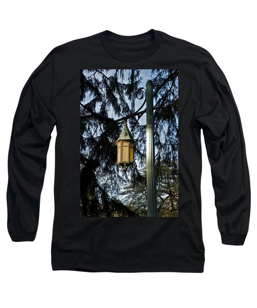 Long Sleeve T-Shirt featuring the photograph Akers Night by Joseph Yarbrough