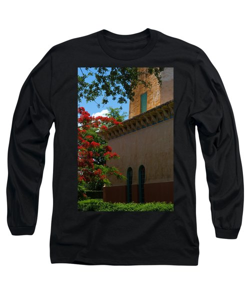 Alhambra Water Tower Windows And Door Long Sleeve T-Shirt