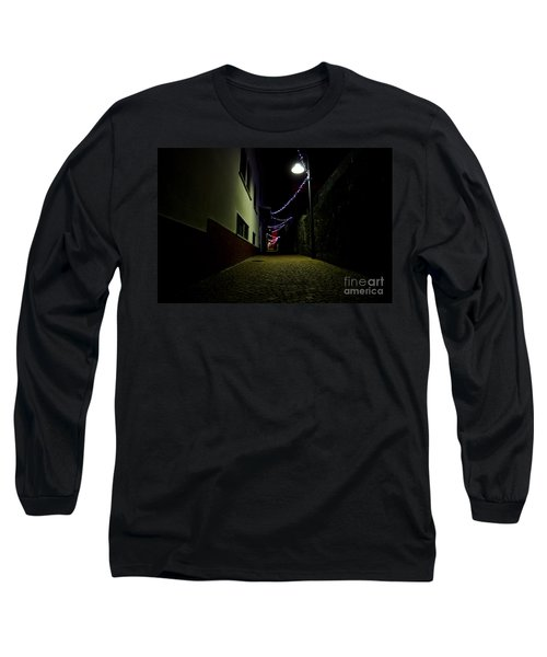 Alley With Lights Long Sleeve T-Shirt