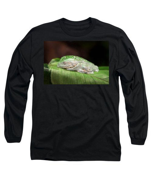 Amazon Leaf Frog Long Sleeve T-Shirt
