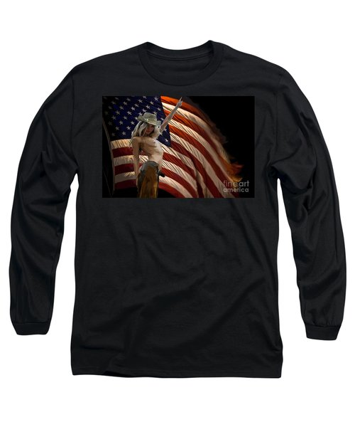American Cowgirl Long Sleeve T-Shirt