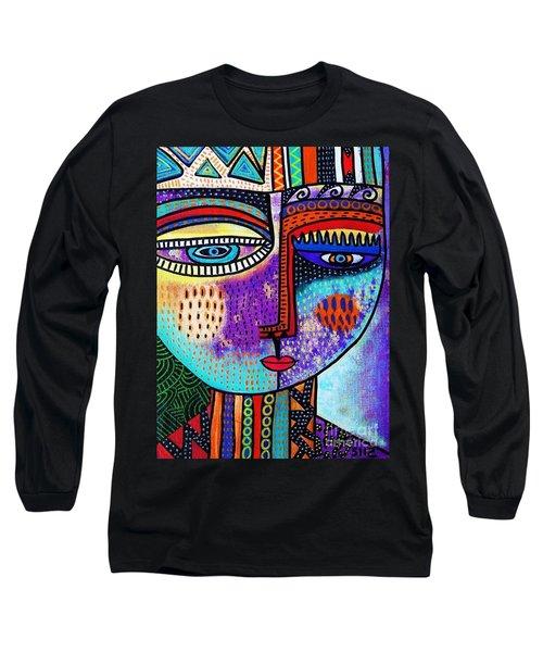 Amethyst Gem Goddess Long Sleeve T-Shirt
